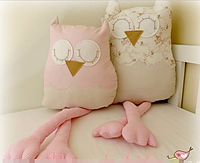 Подушки - совушки подружки. Подарочный набор для девочки.