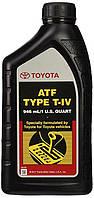 Масло трансмиссионное для акпп toyota. atf type t-iv, 0,946л