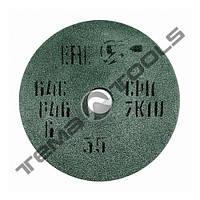 Круг шлифовальный абразивный по металлу 64С ПП 10х13х3 из карбида кремния