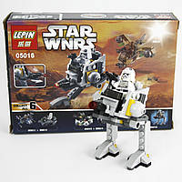 Конструктор LEPIN STAR WARS, аналог LEGO 85 предметов Шагоход Империи