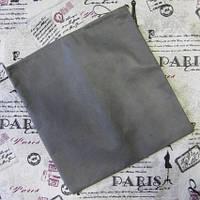 Защитный чехол- мешочек с утяжкой  для поворотных колес коляски или велосипеда. Серый Ткань спанбонд.