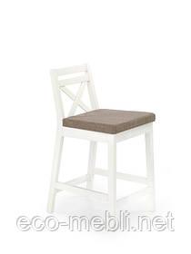 Барний стілець Borys LOW  biały
