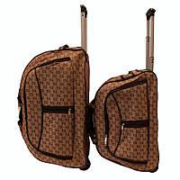 Винтажная сумка дорожная на колёсах 2-ка