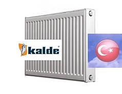 Стальной радиатор отопления Kalde Турция, 500 на 400, тип 22, боковое подключение