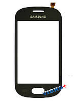Тачскрин (сенсор) Samsung S6812, blue (синий)