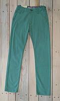 Штаны брюки для мальчиков бирюзового цвета Турция на 10, 11, 12 лет