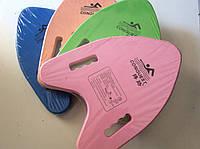 Досточка для плавания с отверстиями для рук 32 х 30 см