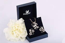 Комплект украшений Black Pandora Swarovski
