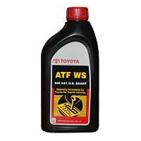 Масло трансмиссионное toyota atf ws, 0,946л