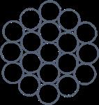 Канат стальной пвх 1х19(1+6+12) ТУ 14-4-1469