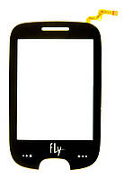 Тачскрин (сенсор) Fly E210, black (чёрный)