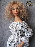 Авторская шарнирная кукла Эмма, МСД. Полиуретан, фото 2