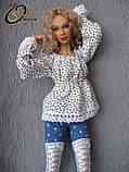 Авторская шарнирная кукла Эмма, МСД. Полиуретан, фото 4