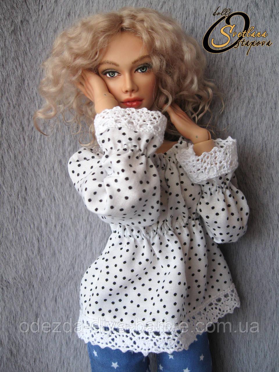 Авторская шарнирная кукла Эмма, МСД. Полиуретан