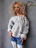 Авторская шарнирная кукла Эмма, МСД. Полиуретан, фото 3