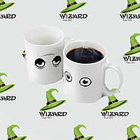 Чашка-хамелеон Просыпайся!