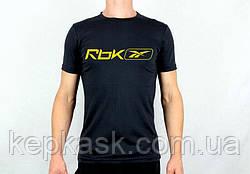 Футболка Reebok-1 black-blue