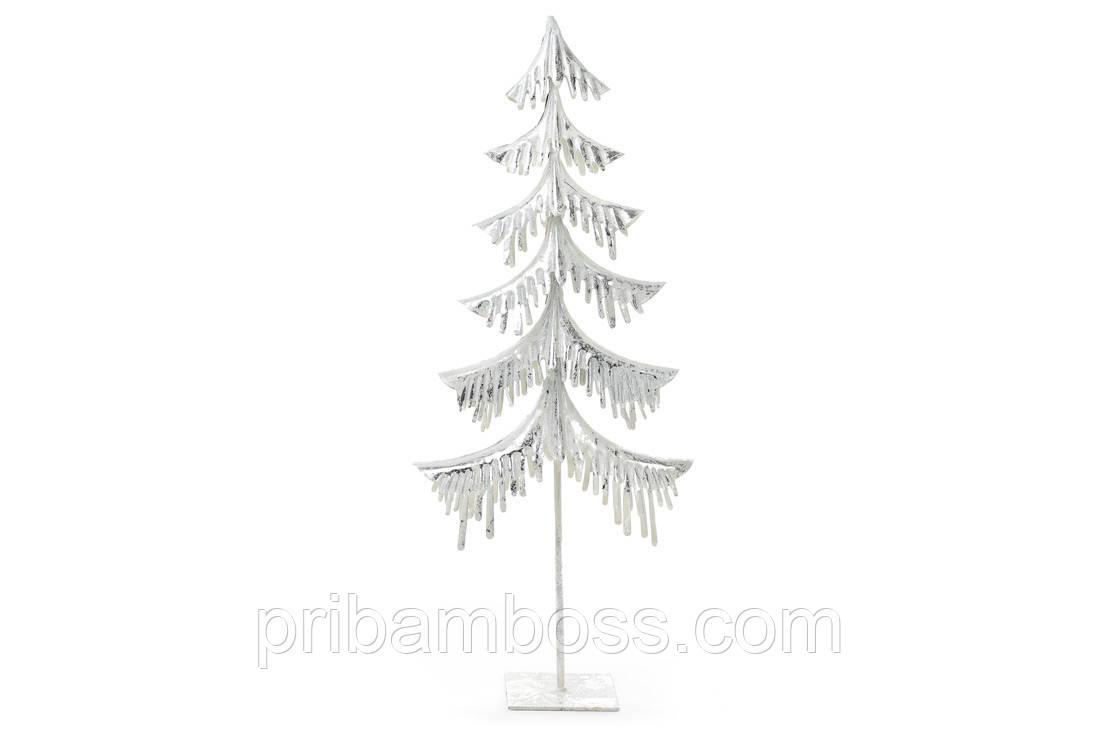 Декоративная металлическая елка 54см