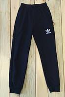 Спортивные штаны темно синие на мальчика Adidas на рост 134 см, 140 см, 146 см