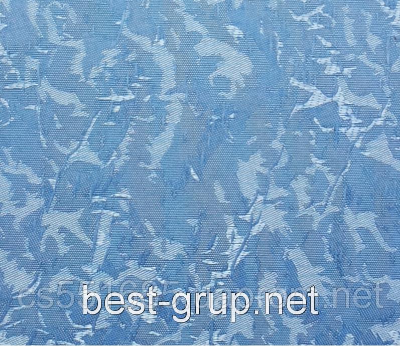 MSV-072 Голубая (0,550 х 1,70 м) Venecia (Венеция) -тканевые ролеты Oasis Оазис