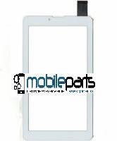"""Оригинальный Сенсор (Тачскрин) для планшета 7"""" Pixus Play Three v3.0 (184x104,30 pin) (Белый-Самоклейка)"""