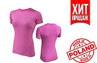 Спортивная женская футболка Radical Capri SG (original), женский рашгард с коротким рукавом, компрессионная фу
