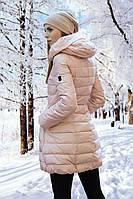 Женское полу-пальто FREEVER (холлофайбер) (Код: 565)