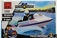 """Конструктор Brick """"Полицейский водный скутер"""" 39 деталей"""