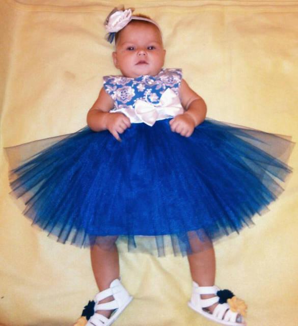 Очаровательное платье для не менее очаровательной маленькой леди -1