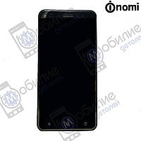 Дисплей (модуль экран + тачскрин) Nomi i5030 Evo X Black