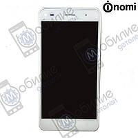 Дисплей (модуль экран + тачскрин) Nomi i5030 Evo X White