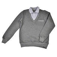 Реглан-обманка для мальчика CEGISA, серый