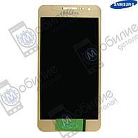Дисплей Samsung A3 2015 (модуль экран + тачскрин) A300 Gold