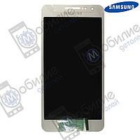 Дисплей Samsung A3 2015 (модуль экран + тачскрин) A300 Silver