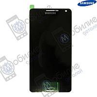 Дисплей Samsung A7 2015 (модуль экран + тачскрин) A700 Black