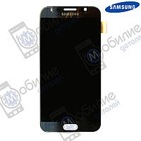 Дисплей Samsung S6 (модуль экран + тачскрин) G920 Black