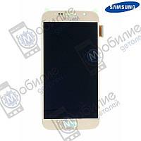 Дисплей (модуль экран + тачскрин) Samsung G920 Galaxy S6 2015 Gold