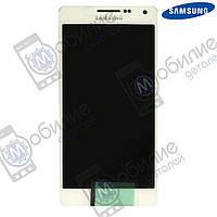Дисплей Samsung A5 2015 (модуль экран + тачскрин) A500 White, GH97-16679A