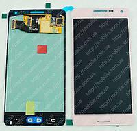 Дисплей Samsung A5 2015 (модуль экран + тачскрин) A500 Pink