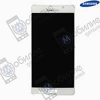 Дисплей Samsung A5 2016 (модуль экран + тачскрин) A510 White, GH97-18250A