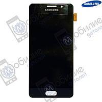 Дисплей Samsung A3 2016 (модуль экран + тачскрин) A310 Black
