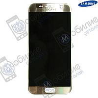 Дисплей Samsung S7 (модуль экран + тачскрин) G930 Silver