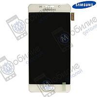 Дисплей Samsung A3 2016 (модуль экран + тачскрин) A310 White, GH97-18249A