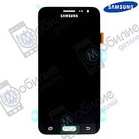 Дисплей Samsung J3 2016 (модуль экран + тачскрин) J320 Black, GH97-18414C
