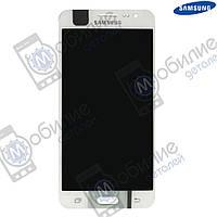 Дисплей Samsung J5 2015 (модуль экран + тачскрин) J500 White, GH97-17667A