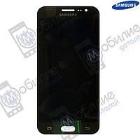 Дисплей Samsung J5 2015 (модуль экран + тачскрин) J500 Black, GH97-17667B