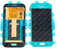 Дисплей Samsung J1 2015 (модуль экран + тачскрин) J110 Blue, GH97-17843C
