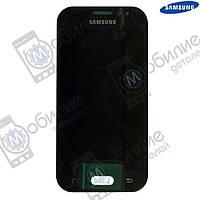 Дисплей Samsung J1 2015 (модуль экран + тачскрин) J110 Black