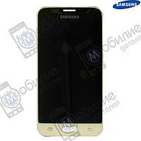 Дисплей Samsung J1 2016 (модуль экран + тачскрин) J120 White