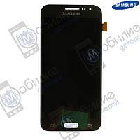 Дисплей Samsung J2 2015 (модуль экран + тачскрин) J200 Black